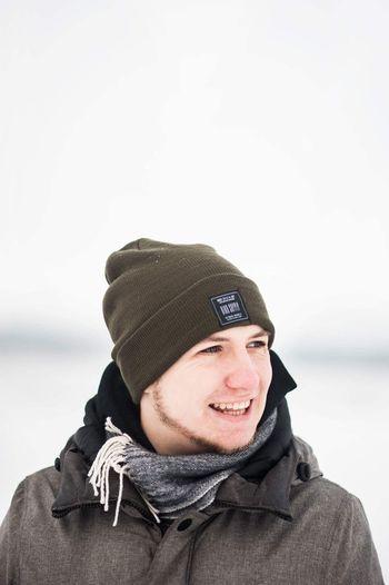 Boy Wintertime Snow