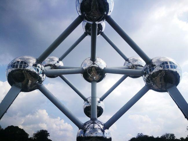 Park Bruxelles Atomium Perspective EyeEm Selects City Amusement Park Sky Close-up