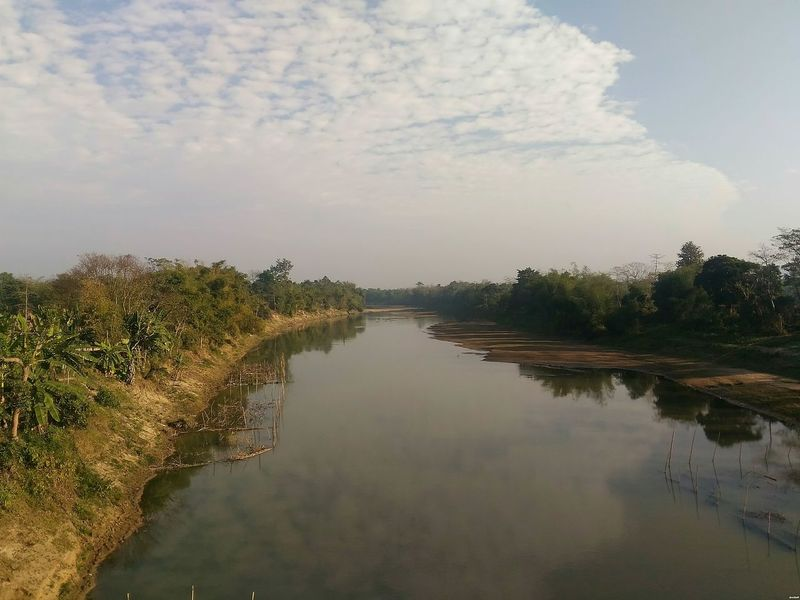 Kailashahar Unakoti Tripura Cloud - Sky Reflection Tree Sky Landscape Water Nature Rural Scene Beauty In Nature Northeastindia India River View Manu River Outdoors Autumn Nature Live For The Story