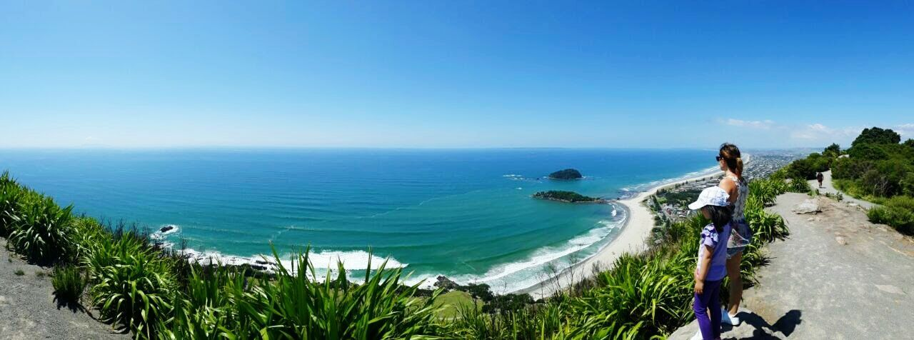 Beach Nature Landscape Blue Scenics Adventure Vacations Mtmanganui New Zealand