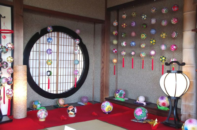 昨年のフォトです。 偕楽園 好文亭 Kairakuen Japan Toraditional Japaneseroom Temari Colorful Window Multi Colored