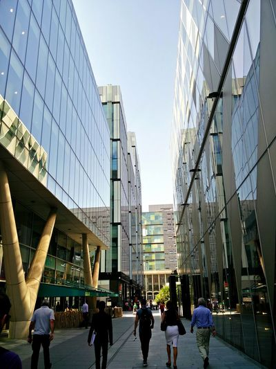 Spinningfields Urban Explore Manchester Buildings Glass