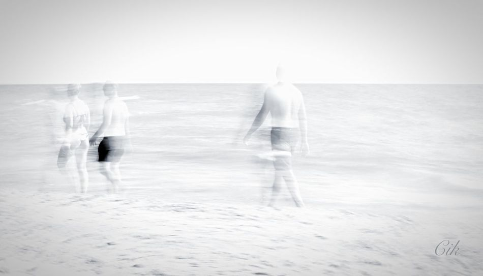 Glitch Overexposed Beach Taking Photos EyeEm Gallery Creative Light And Shadow Black & White EyeEm Best Shots - Black + White Light And Shadow White Album