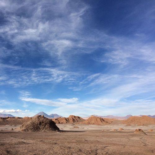 Vale da Lua. Deserto do Atacama. Chile