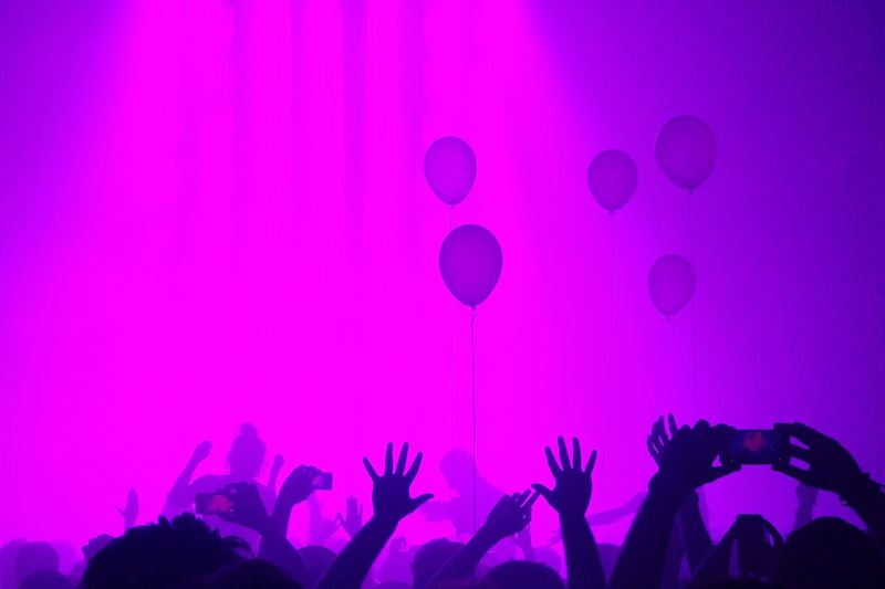 Party time *** Arts Culture And Entertainment Nightlife Excitement Crowd Night Fun Purple Music Enjoyment Pink Color Large Group Of People Celebration Party - Social Event Event Silhouette People Indoors  Illuminated Adult Happiness First Eyeem Photo Balloon Electronic Music Shots Electro Techno