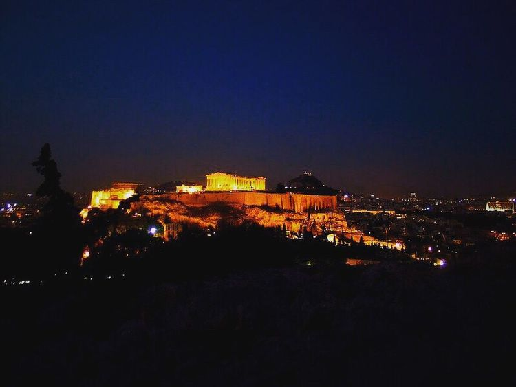 Athens the eternal ! Climbing A Mountain Bestspot Spot Eternal City Acropolis Acropolis, Athens Ruins Ruins Architecture History Historical Building Historical Monuments Night Nightphotography Night Lights Eye4photography  EyeEmBestPics EyeEmbestshots EyeEm Best Shots Eyeemphotography Ruins_photography