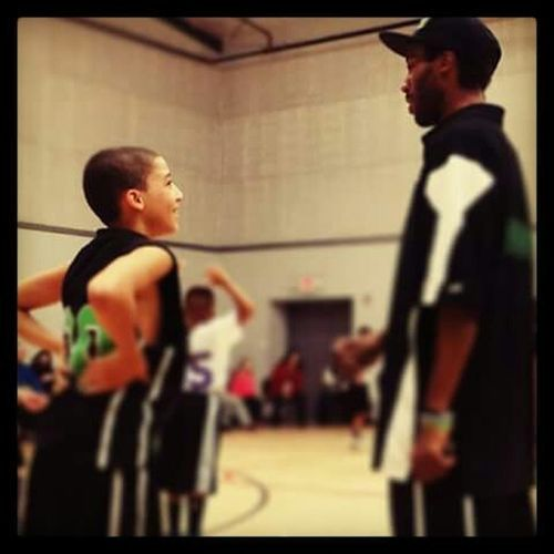 Modern Father Father & Son Basketball Bondingmoments My Life ❤ Coaching Father & Coach