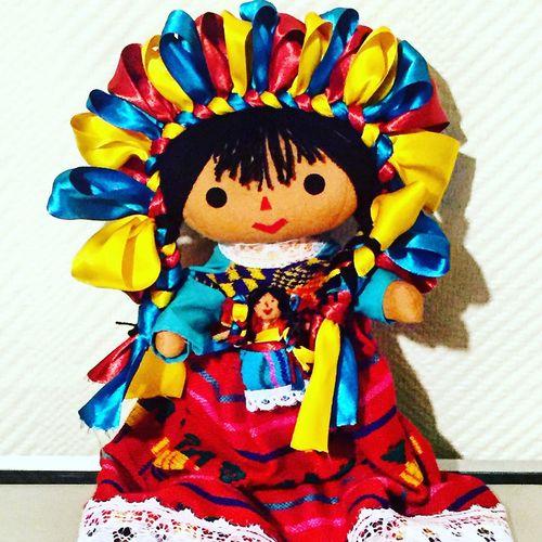 Lupita Doll Cdmx Mexico Artisan Handmade
