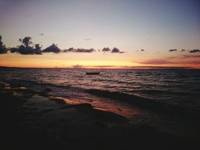 JezzyRabbitPhotography Sunset Beach Sea Sand Reflection Landscape Tranquility Sun Sky Vacations Low Tide Dusk Water Horizon Over Water Wave Nature Tourism Outdoors Tide Cloud - Sky
