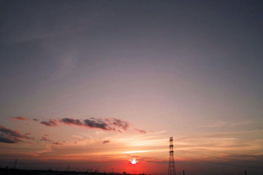 おつかれさま。 SigmaDP1X Twilight Sunset Afterglow おつかれさま