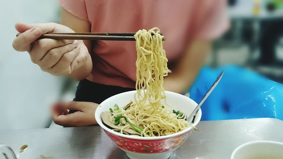 EyeEm Selects Bowl Preparation  One Person Food And Drink Human Body Part People Indoors  Adult Human Hand Only Women Adults Only One Woman Only Mixing Close-up Freshness Day Ready-to-eat Mi Cat Mi Cat Truong Dinh Vietnamese Food Saigon Food