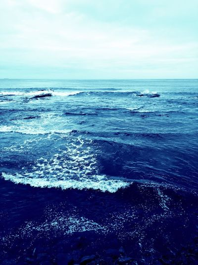 The deep blue... EyeEm Gallery Colours Simplethings Picoftheday EyeEm Photography Beauty In Nature Sea Water Sky Horizon Over Water Horizon Scenics - Nature Beauty In Nature Land Tranquil Scene Tranquility Beach Nature Day Motion Blue No People Wave Cloud - Sky Idyllic Outdoors
