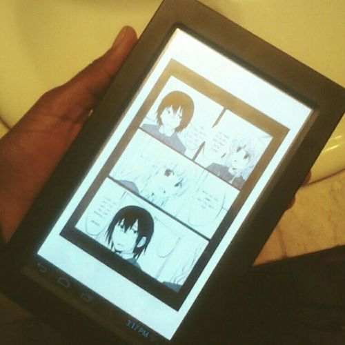 I'm kind of addicted to this #manga. #vsaliens #vsaliensmanga #otaku #comics #tablet #ereader #ebook #emanga #ecomic #comicbook #mangagram #fangirl #anime #nerdgirl #nerdgirl #nerd #saturday #fun #reading Reading Nerd Saturday Comics Otaku Tablet Comicbook Ereader Vsaliens Vsaliensmanga Mangagram Nerdgirl Ecomic Emanga