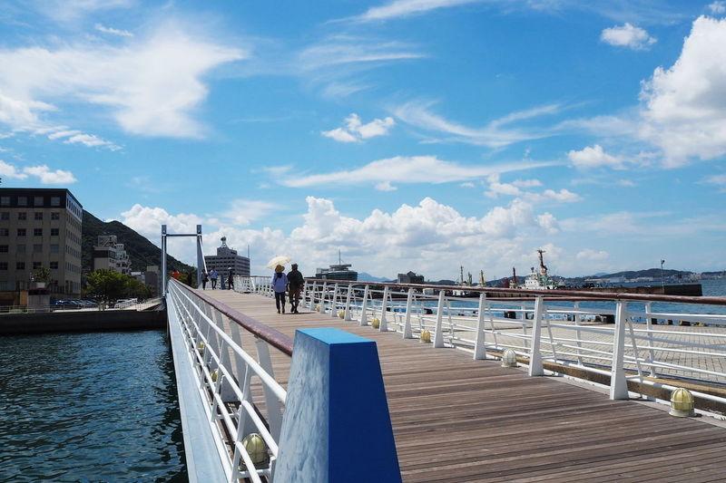 Mojiko Station Cloud - Sky Travel Destinations Travel Blue Vacationsj Japan Sky City Landscape