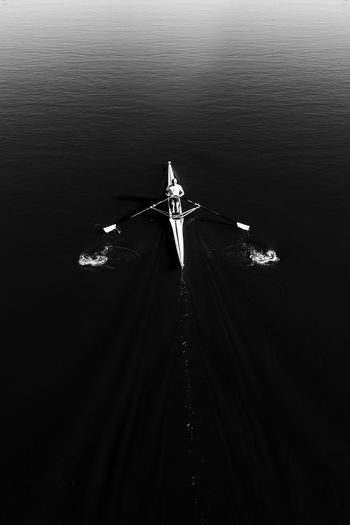 Make tiny ripples in the world. 🚣🏽✨ #motto #mono #melbourne #australia #rowing #vsco #vscocam #vscox #blackandwhite #monochrome #canon #canon6d #travel Art Is Everywhere Australia Man Rowing Rowing Boat Active Active Lifestyle  Activity Black And White Blackandwhite Blackandwhite Photography Day Melbourne Motion Nature Nautical Vessel One Person Outdoors Pad Sky Water Lost In The Landscape Be. Ready. The Great Outdoors - 2018 EyeEm Awards