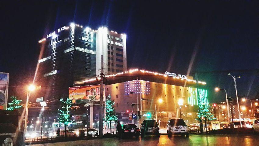улаанбаатр.н үдэш намуухаан. Night Lights Ulaanbaatar Mongolia Happy