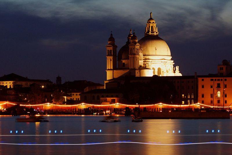 Madonna della Salute Venice, Italy Light Water