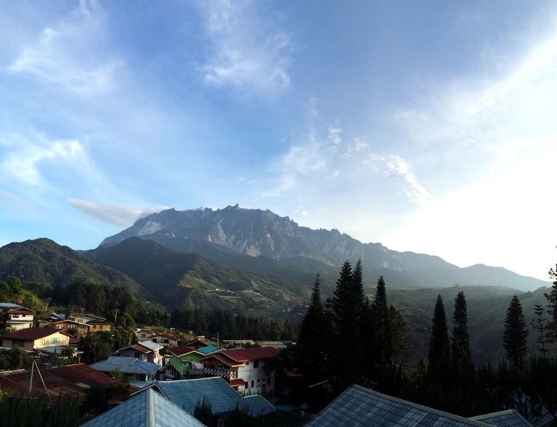 Mount Kinabalu Mountain Mountain Range Sky Beauty In Nature Kota Kinabalu Sabah Malaysia Borneo