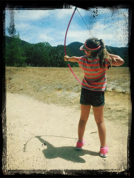 Enjoying Life Follow camp instructors says I'm a natural Archery(: Check This Out