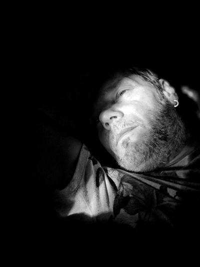 Ombré Selfportrait Around The World Selfie Portrait Selfie ✌ Men Black Background Portrait Looking At Camera Human Face Headshot Close-up Depression - Sadness