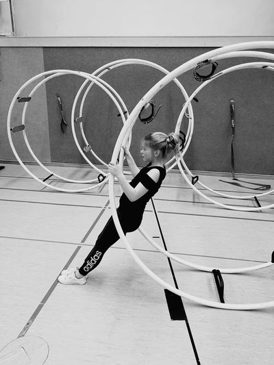 Rhönrad Sport Sports Rhoenrad EyeEm Best Shots The Week on EyeEm Black & White Blackandwhite Bnw_collection Bnw_captures Bnw EyeEm Gallery Wheel Gym Gymnastics Girl Girl Power EyeEm Selects Skill  Balance Strength Flexibility Sport