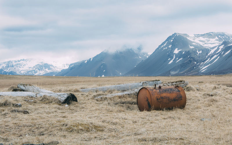 Cold Temperature Iceland Iceland Memories Iceland_collection Landscape Mountain Mountain Range Remote Tranquil Scene