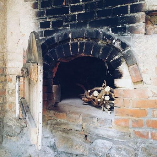 Old Oven Wood Bricks Bakery Germany Brandenburg Prignitz Pritzwalk Door Soot VSCO