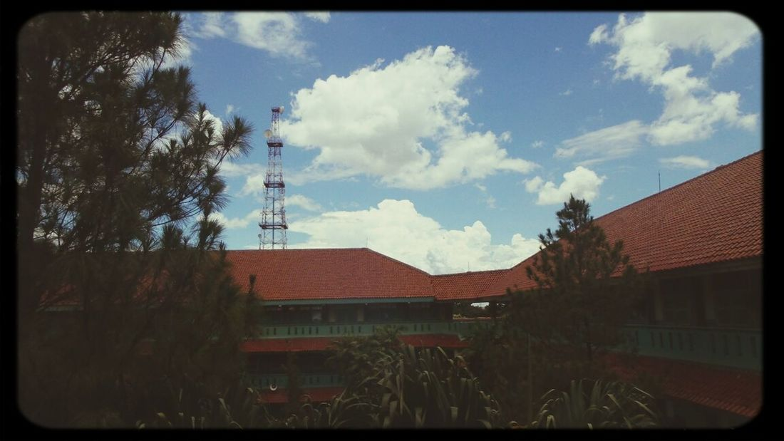 in the sky we trust Taking Photos At School Landscape Skyporn
