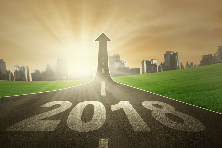 2018 New Year Architecture Building Exterior Built Structure City Cityscape Cloud - Sky Day Grass Hopes And Dreams Modern Nature No People Outdoors Sky Skyscraper Sunset Travel Destinations Urban Skyline