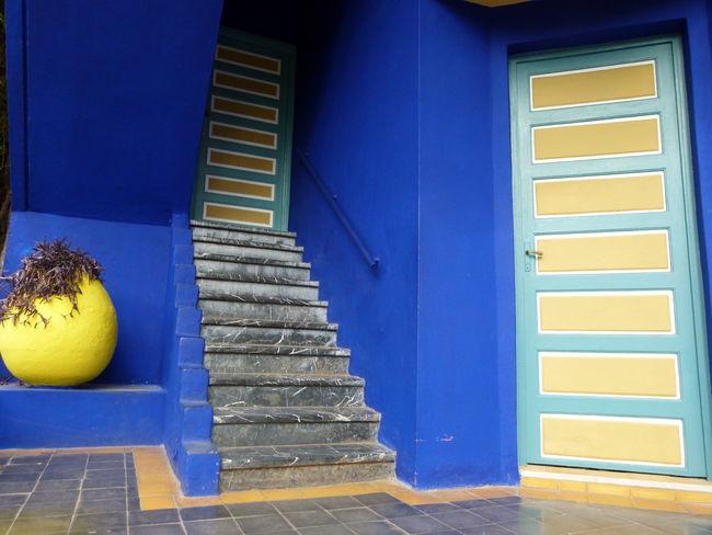 #Blue #Garden #Marrakesh #NoFilter #majorelle #morocco #nofiltertravel #travel #travelphotography #yellow #ysl #yvessaintlaurent Paint The Town Yellow The Week On EyeEm