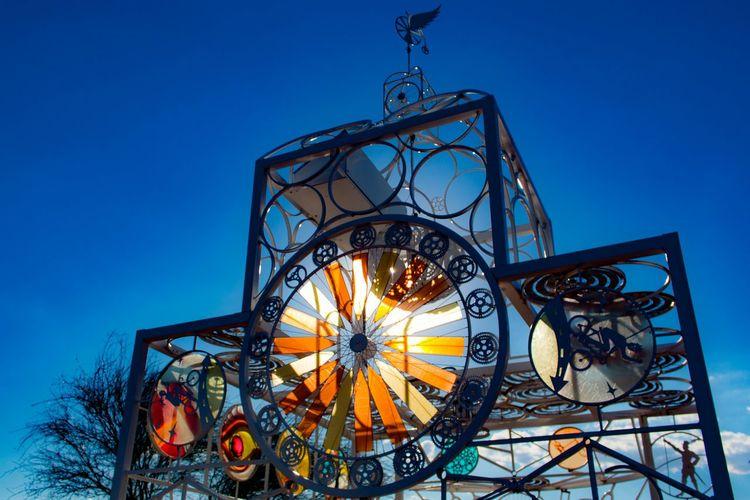 The Bike Church Sculpture Bike Memorial Bicycle Photography Oddity Tucson City Of Tucson Arizona