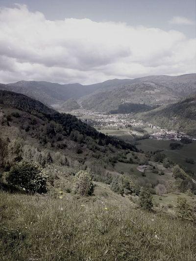 Nature Ciel Montagne