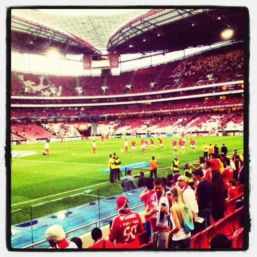 Benfica Vs Zenit Qualifying Round Champions League Zenit won !!! 2-0