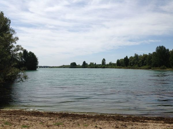 Lac de St Cyr (Vienne - 🇫🇷) - Août 2017 Nature Peaceful View Beauty In Nature Far From City Life No People Tranquil Scene Tranquil View Viewpoint Water Lake