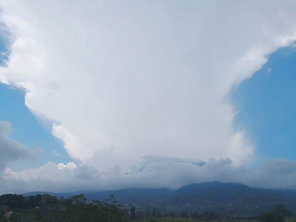 City Mountain Tree Water Beauty Blue Fog Sky Cloud - Sky Dramatic Sky Cloudscape Cumulus Cloud Moody Sky EyeEmNewHere Go Higher