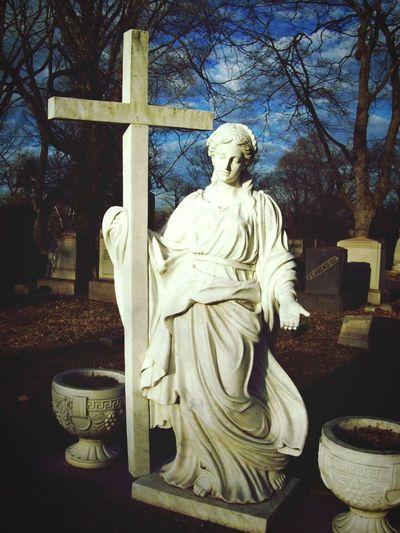 Graveyard Graveyard Beauty Cemetery Cemetery Wanderings Statue Stone Exploring Suburban Exploration Wanderings OpenEdit