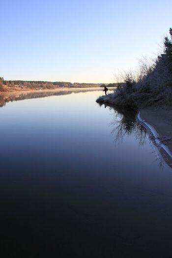 Water Nature Beauty In Nature Outdoors Sundsvall Sweden Fisketur Fiske Indalsälven Bergeforsen