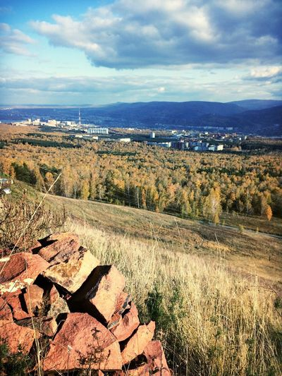 Autumn Krasnoyarsk Nature