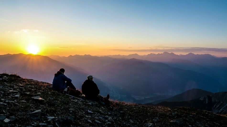 The journey is important, but sometimes the destination is amazing too. Igersaustria Tirol  Visitaustria Austria Serles Sunrise Sunrise_sunsets_aroundworld Hiking