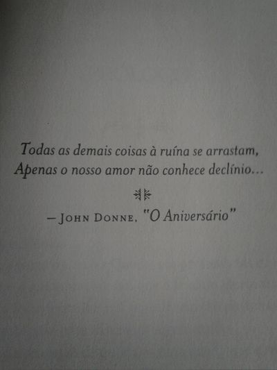 JohnDonne Êxtase Books Fallen