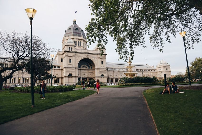 Royal Exhibition Building. Streetphotography Building Architecture Museum Exibition Gardens CarltonGardens Melbourne , Australia