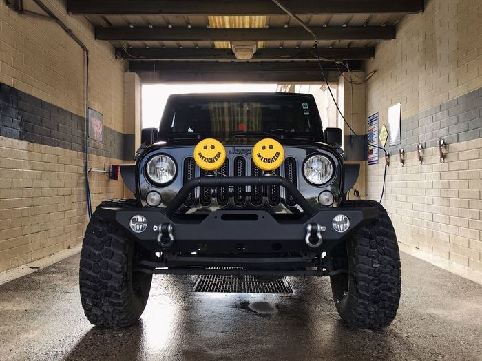 """""""a clean machine runs better."""" my dad's words to me when i first started driving. it stuck. #OIIIIIIIO Jku Jeep Mode Of Transportation Transportation Land Vehicle Indoors  Technology Architecture Motor Vehicle"""
