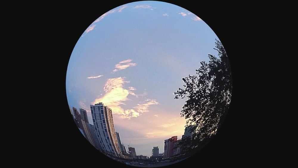 Circle Business Finance And Industry Cityscape Sky No People City Day Outdoors