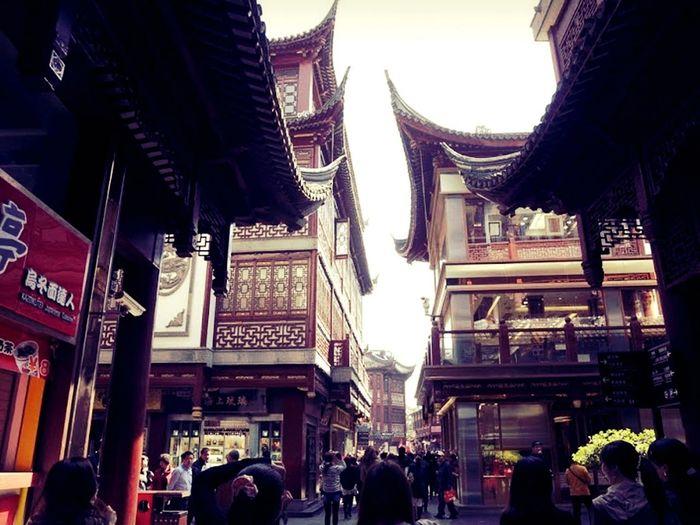 At Shanghai