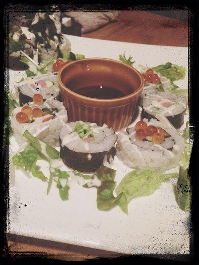 ハワイアンロール寿司