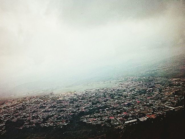 Aerial Shot Venezuela Ciudad Holiday POV Rubio Capture