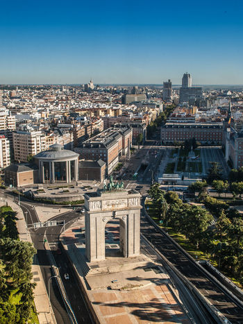 Madrid from the lighthouse of Moncloa ⏺ Madrid desde el faro de Moncloa Madrid SPAIN Europe Europa Moncloa Faro Lighthouse Architecture City Cityscape Ciudad