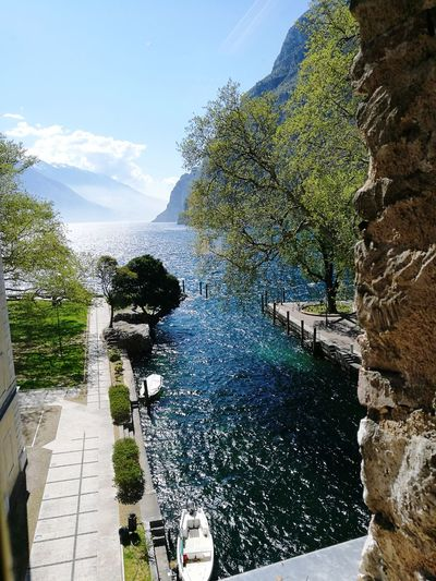 Lake View Sunnyday☀️ Nature Windy Day Summertime Magic Moments Italy🇮🇹