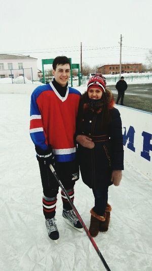 Счастье-быть девушкой хоккеиста:) мой _хоккеист Hockeyonelove