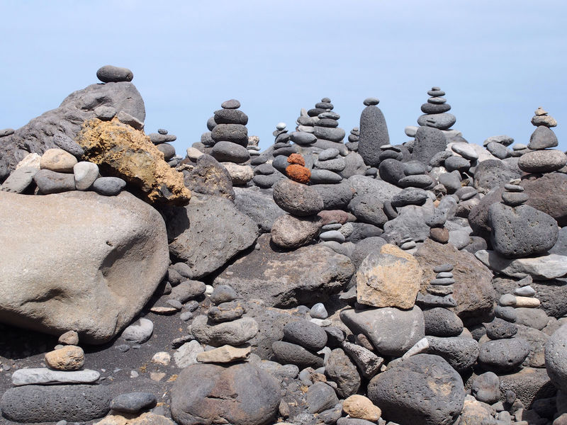 stacked rocks Rock Pile Animal Themes Beach Beauty In Nature Close-up Day Nature No People Outdoors Rock - Object Sculpture Sea Sky Stacked Stones Statue